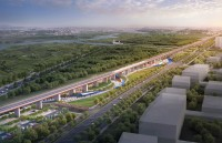 Zhengxi high-speed railway park