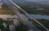 Fenghe landscape bridge