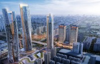 Xi'an daminggong highrise and masterplan